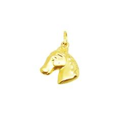 Pingente De Ouro 18k Cavalo - 100876 - Fábrica do Ouro