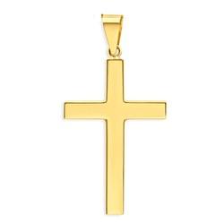 Pingente De Ouro 18k Cruz - 101643 - Fábrica do Ouro