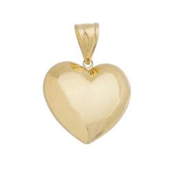 Pingente De Ouro 18k Coração - 101700 - Fábrica do Ouro
