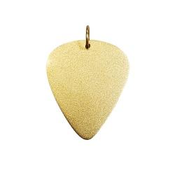 Pingente De Ouro 18k Palheta - 101819 - Fábrica do Ouro