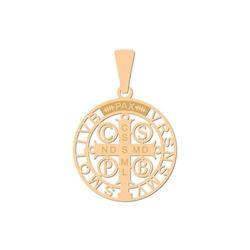 Pingente De Ouro 18k São Bento Vazado - 101897 - Fábrica do Ouro