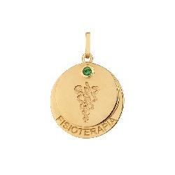 Pingente De Ouro 18k Formatura De Fisioterapia Com... - Fábrica do Ouro