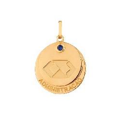 Pingente De Ouro 18k Formatura De Administração Co... - Fábrica do Ouro