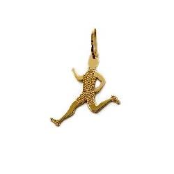 Pingente De Ouro 18k Atletismo Masculino - 101934 - Fábrica do Ouro