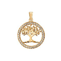 Pingente De Ouro 18k Árvore Da Vida Pequena - 1019... - Fábrica do Ouro