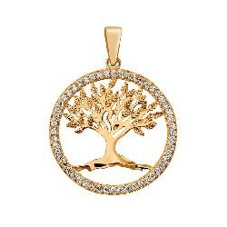 Pingente De Ouro 18k Árvore Da Vida Média - 101966... - Fábrica do Ouro