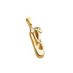 Pingente De Ouro 18k Sapatilha De Bailarina - 1019... - Fábrica do Ouro