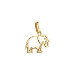 Pingente De Ouro 18k Elefantinho - 101972 - Fábrica do Ouro