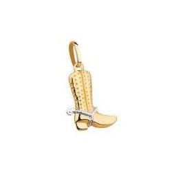 Pingente De Ouro 18k Bota - 101981 - Fábrica do Ouro