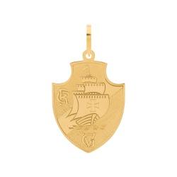Pingente De Ouro 18k Time Vasco Grande - 101989 - Fábrica do Ouro