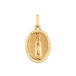 Pingente De Ouro 18k Medalha De Nossa Senhora De F... - Fábrica do Ouro