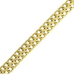 Pulseira De Ouro 18k Lacraia De 5mm Com 19cm - 101... - Fábrica do Ouro