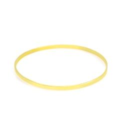 Bracelete De Ouro 18k Laminado De 2,6mm Com 6,5cm ... - Fábrica do Ouro