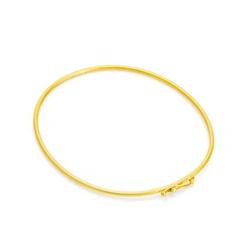 Bracelete De Ouro 18k De 1,2mm Com 6,5cm - 101126 - Fábrica do Ouro