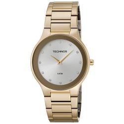 Relógio Technos Feminino Slim 1l22en/4k Dourado - ... - Fábrica do Ouro