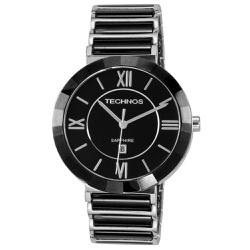 Relógio Technos Feminino Ceramic 2015bx/1p Prata -... - Fábrica do Ouro