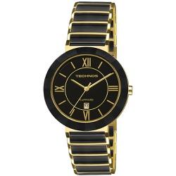 Relógio Technos Feminino Ceramic 2015ce/4p Dourado... - Fábrica do Ouro