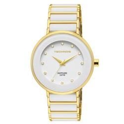 Relógio Technos Feminino Ceramic 2035lmm/4b Dourad... - Fábrica do Ouro