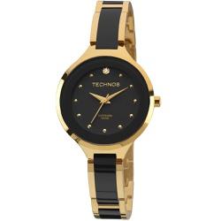 Relógio Technos Feminino Ceramic 2035lyw/4p Dourad... - Fábrica do Ouro