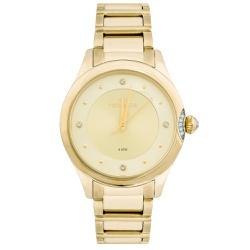 Relógio Technos Feminino Crystal 2035mfr/4x Dourad... - Fábrica do Ouro
