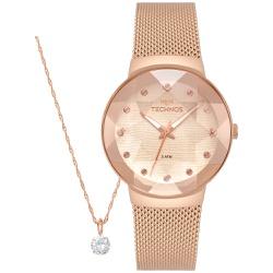 Kit Relógio Technos Feminino Crystal 2035mpx/k5t R... - Fábrica do Ouro