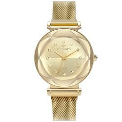 Relógio Technos Feminino Crystal 2035mrz/4x Dourad... - Fábrica do Ouro