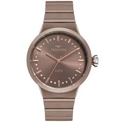 Relógio Technos Feminino Icon 2036mju/4m Marrom - ... - Fábrica do Ouro