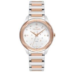 Relógio Technos Feminino Crystal 2036mki/4c Bicolo... - Fábrica do Ouro