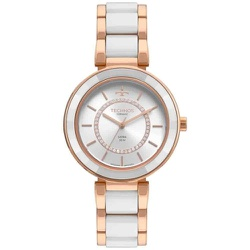 Relógio Technos Feminino Ceramic 2036mkp/4b Rosé -... - Fábrica do Ouro
