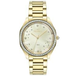 Relógio Technos Feminino Crystal 2036mmg/1x Dourad... - Fábrica do Ouro