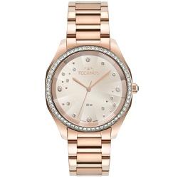 Relógio Technos Feminino Crystal 2036mmh/1t Rosé -... - Fábrica do Ouro