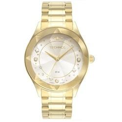 Relógio Technos Feminino Crystal 2036mnd/1k Dourad... - Fábrica do Ouro