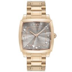 Relógio Technos Feminino Crystal 2036mnf/1c Rosé -... - Fábrica do Ouro