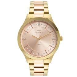 Relógio Technos Feminino Trend 2036mnh/1t Bicolor ... - Fábrica do Ouro
