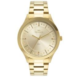 Relógio Technos Feminino Trend 2036mni/1x Dourado ... - Fábrica do Ouro