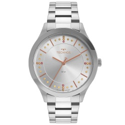 Relógio Technos Feminino Trend 2036mnj/1t Prata - ... - Fábrica do Ouro
