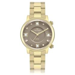 Relógio Technos Feminino Rocks 2039bu/4c Dourado -... - Fábrica do Ouro