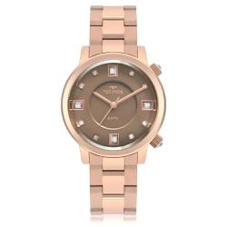 Relógio Technos Feminino Rocks 2039bv/4m Rosé - 70... - Fábrica do Ouro