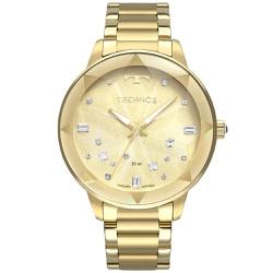 Relógio Technos Feminino Crystal 2039ce/4x Dourado... - Fábrica do Ouro