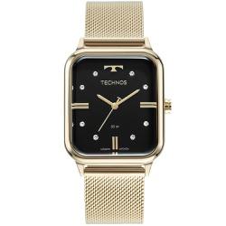 Relógio Technos Feminino Style 2039cq/1p Dourado -... - Fábrica do Ouro