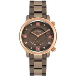 Relógio Technos Feminino Fashion 2039cu/1m Marrom ... - Fábrica do Ouro