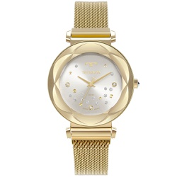 Relógio Technos Feminino Crystal 2039dd/1k Dourado... - Fábrica do Ouro
