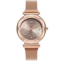 Relógio Technos Feminino Crystal 2039de/1c Rosé - ... - Fábrica do Ouro