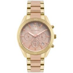 Relógio Technos Feminino Ladies 6p29aky/1t Bicolor... - Fábrica do Ouro