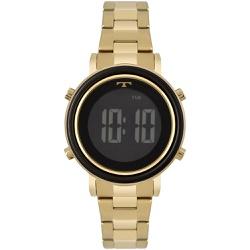 Relógio Technos Feminino Digital Bj3059ac/4p Doura... - Fábrica do Ouro