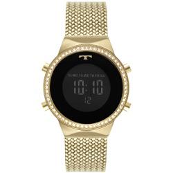 Relógio Technos Feminino Digital Bj3478ag/1p Doura... - Fábrica do Ouro