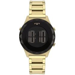 Relógio Technos Feminino Digital Bj3851ab/4p Doura... - Fábrica do Ouro