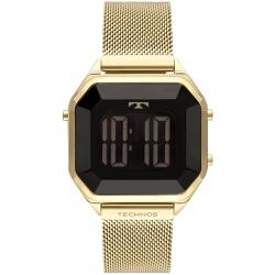 Relógio Technos Feminino Digital Bj3851aj/4p Doura... - Fábrica do Ouro