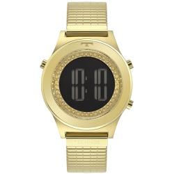 Relógio Technos Feminino Digital Bj3927aa/1c Doura... - Fábrica do Ouro