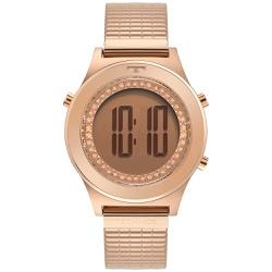 Relógio Technos Feminino Digital Bj3927ab/1t Rosé ... - Fábrica do Ouro